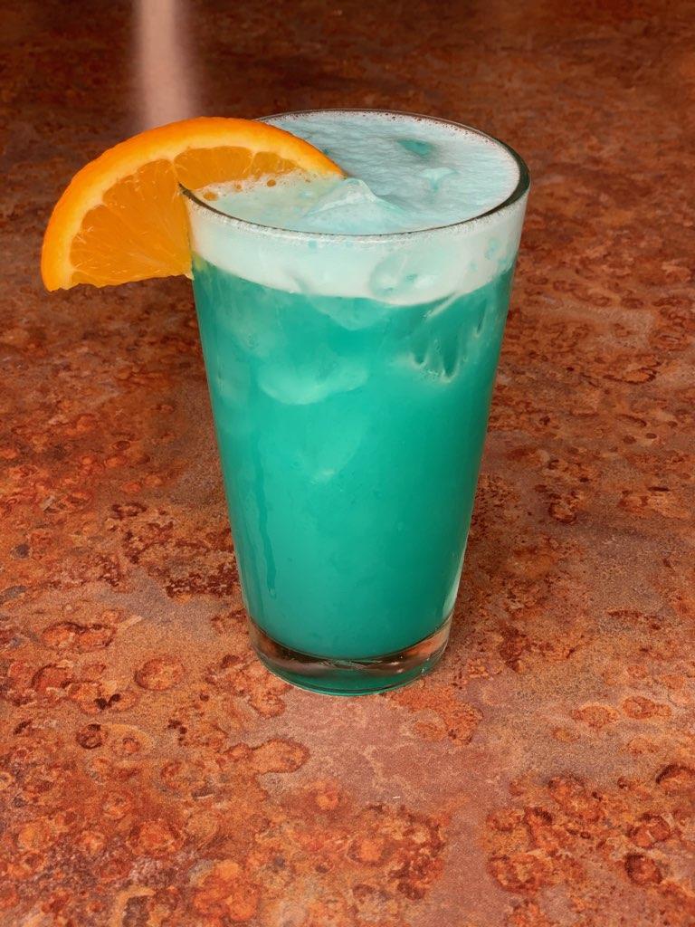 Quarantine Blues Cocktail