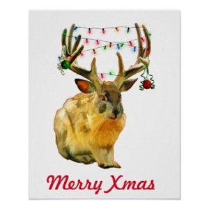 Merry Christmas Crafty Jackalope